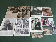 MARIA MONTEZ - FILM STAR - CLIPPINGS /CUTTING PACK