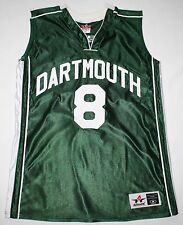 DARTMOUTH Big Green Women's Basketball Jersey #8 Santos Green Medium Excellent