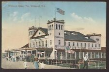 Postcard WILDWOOD New Jersey/NJ  Carrousel, Bowling Alley, Game Room view 1907?