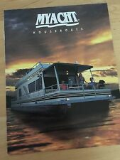MYacht Pontoon Houseboat Boat Brochure - 1999