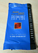 STAR TREK CCG 1995 ALTERNATE UNIVERSE LIMITED SEALED BOOSTER 15 CARDS ENG