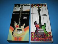 2 ROLLING STONES MUSICAL ORNAMENTS GUITAR  RUDY TUESDAY & I'M FREE - BRAND NEW !