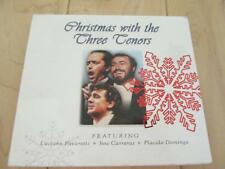 CHRISTMAS WITH THE THREE TENORS CD + DVD 22 TOTAL SONGS O HOLY NIGHT FIRST NOEL