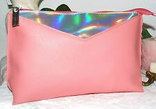 Elizabeth Arden SHimmer Peach Cosmetics Bag New