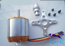 Heavy Duty 510KV 6s 6MM shaft Brushless Motor A4130 for 90-120 CLASS RC Aircraft