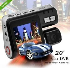 AUTO DVR CCTV Camera Dual Lens 1080P Widescreen Movimento Hd Dash Cam Van UK