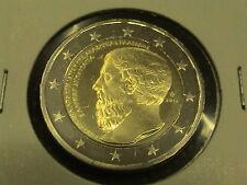 2 EURO COMMEMORATIVO 2013 GRECIA PLATONE FDC da rotolino zecca UNC