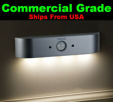 2W LED Night Light IR Motion Activated Warm White Fades OFF Commercial Grade New