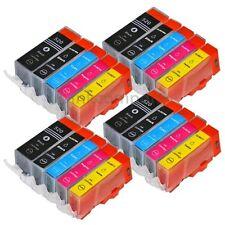 20 Druckerpatronen + CHIP für PGI-520 CLI-521 IP 3600 IP 4600 IP 4700 MP 540 550