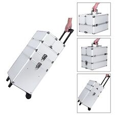 Songmics Aluminium Beauty Trolley Vanity Case Cosmetics Case Make-up Beauty