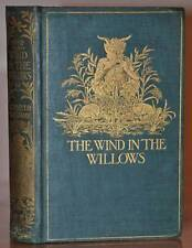 FIRST UK EDITION, FIRST PRINTING 1908~ THE WIND IN THE WILLOWS~KENNETH GRAHAME