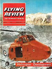 FLYING REVIEW INT JAN 65 FACSIMILE: COUNTER INSURGENCY/ YF-12A/ VALKYRIE/ MiG-15