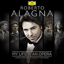 ROBERTO ALAGNA/LONDON ORCHESTRA/YVAN CASSAR - MY LIFE IS AN OPERA 2 CD NEU