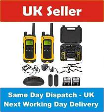 Motorola 10km TLKR T80 Extreme Twin Long Range Walkie Talkie Two-Way Radios IPX4