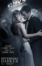 FIFTY SHADES DARKER MANIFESTO POSTER FOLEY E L JAMES JAMIE DORNAN DAKOTA JOHNSON
