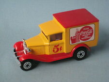 MATCHBOX FORD MODEL A VAN coke Coca-cola rouge bouteille 5 cents UB
