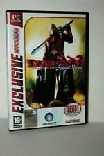 DEVIL MAY CRY 3 SPECIAL EDITION GIOCO USATO PC DVD VERSIONE ITALIANA IN1 45995