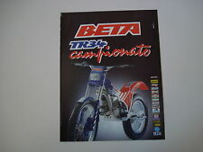 advertising Pubblicità 1988 MOTO BETA TR34 TR 34 CAMPIONATO