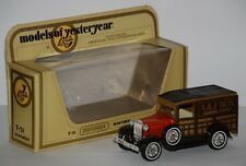 Matchbox - Models of Yesterday Y - 21 - 1981 - 1930 Ford Model A - A