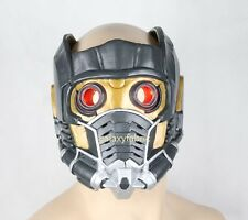 STAR LORD HELMET With RED LIGHT Guardians of The Galaxy Costume ADULT Mask New