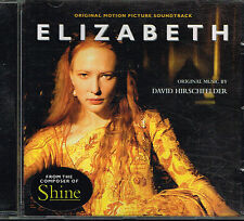 CD album: Elizabeth: David Hirschfelder. London . H