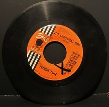 """Freddie Cole """"It's Christmas Time"""" SUE Records 45rpm #775"""