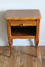 Table de chevet style rustique - Chêne