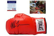 Mike Tyson SIGNED Everlast Boxing Gloves - PSA/DNA Witness Autograph