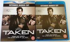 TAKEN EXTENDED HARDER BLU RAY UK EXCLUSIVE + RARE OOP NEAR MINT SLIPCOVER SLEEVE