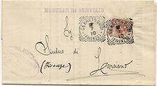 P8705   Firenze, Cerreto Guidi, ann. tondo riquadrato, 1910