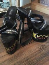 Black wrap round zip plaisirs 7 rockstar danseuse pole dance strip-teaseuse