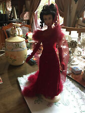 FRANKLIN MINT SCARLETT O'HARA SHAME DOLL -GONE WITH THE WIND