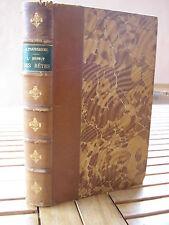 TOUSSENEL : L'ESPRIT DES BÊTES zoologie passionnelle MAMMIFERES de France 1862