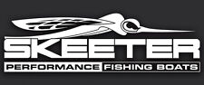 Skeeter Performance Bass Boats Logo Fishing Vinyl Decal Sticker Truck Boat