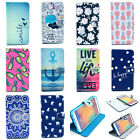 New Vintage Stand Folio Flip Wallet Leather Hybrid Soft Case Cover F Smart Phone