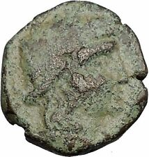 SYRACUSE in SICILY 1stCenBC Rare R1 PERSEPHONE Demeter Greek Roman Coin i52561