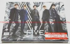 New SHINee FIVE First Limited Edition Type B CD DVD Photo Booklet Card Japan F/S