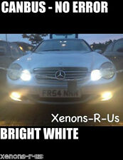 MERCEDES C CLASS W203 BRIGHT XENON WHITE SIDELIGHT BULBS 501 - CANBUS ERROR