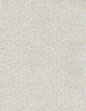 York Raised Packed Trellis Wallpaper  White on Taupe   HD6904    per Double Roll