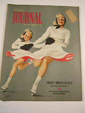 LADIES HOME JOURNAL FEB. 1939 MAGAZINE NORMAN ROCKWELL AL PARKER HOWARD FAST