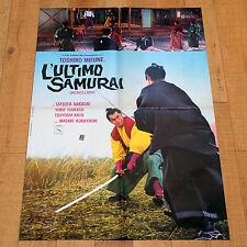 L' ULTIMO SAMURAI manifesto poster affiche Toshiro Mifune Kobayashi Giappone