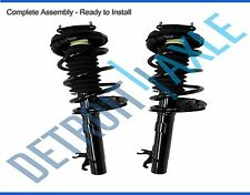 Both (2) NEW Complete Front Strut W/ Spring & Mount Quick Assembly 06-11 Focus