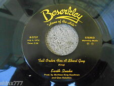 """EARTH QUAKE-7"""" 45 RPM SINGLE-VINYL-TALL ORDER FOR A SHORT GUY-FRIDAY ON MY MIND"""