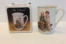 "New The Norman Rockwell Classic Mug Series ""The Cobbler"""