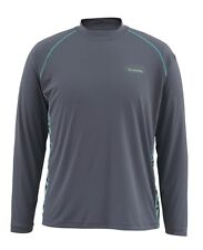 Simms SOLARFLEX Long Sleeve Crewneck ~ NEW Tri Geo Nightfall ~ Large ~ CLOSEOUT
