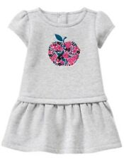 Nwt Gymboree Precious Prep Apple Flower Baby Girls Embroidered Dress 3-6 M