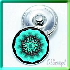 NEON GREEN DESIGN Ginger Snap Button Charm (Cart ANY 4 store items, 2 w/be FREE)
