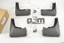 10-15 GMC Terrain Front & Rear Molded Mud Flaps 4pc Set with GMC Logo new OEM