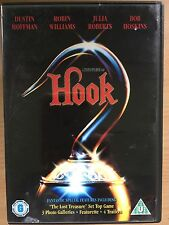 Dustin Hoffman Robin Williams HOOK Steven Spielberg Peter Pan Adventure | UK DVD