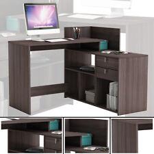 Eck-Schreibtisch #205 VULCANO EICHE dunkel Schreibtisch PC-Tisch Eckschreibtisch